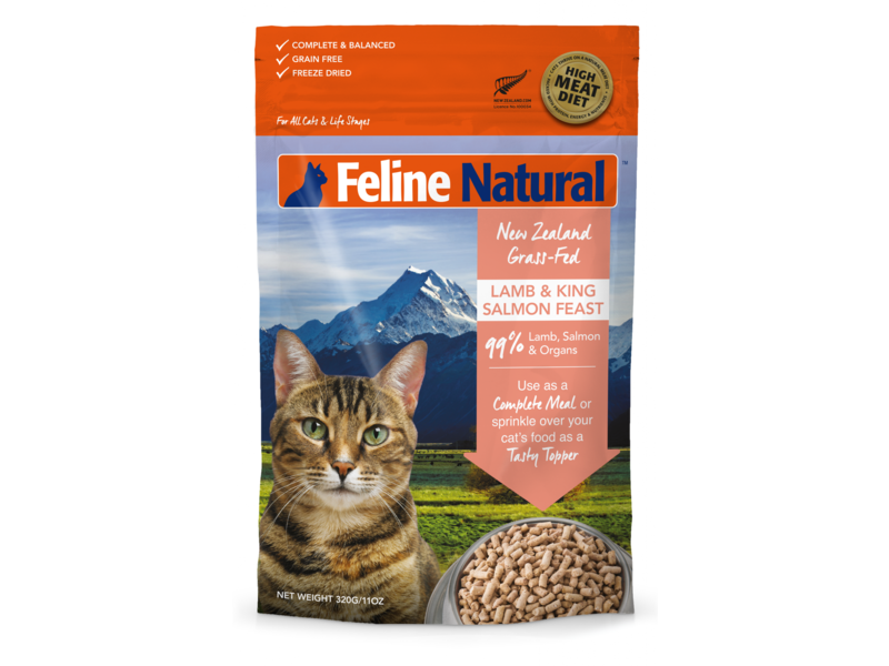 Feline Natural Lamb & Salmon Feast