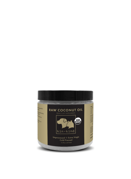 Kin + Kind Organic Raw Coconut Oil