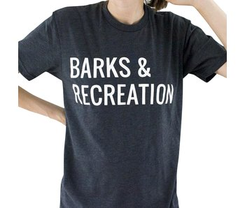 Hunter & June Barks & Recreation Tee
