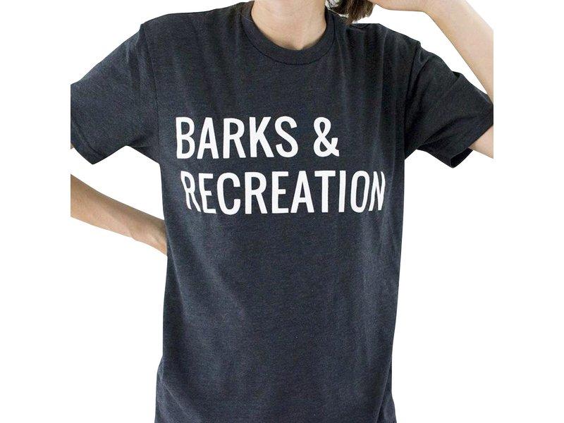 Hunter & June Barks & Recreation Tee
