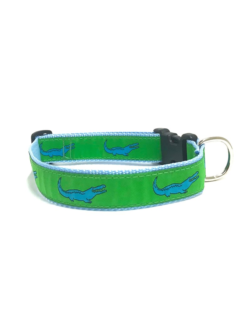 Preston Green Alligator Collar
