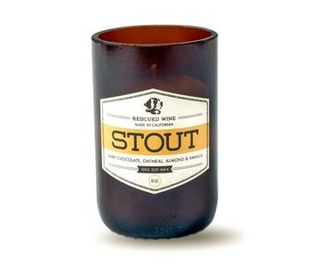 Rescued Wine Soy Candle, Craft Beer Stout