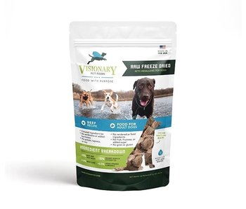 Visionary Pet Nutrition Raw Ketogenic Freeze-Dried Beef