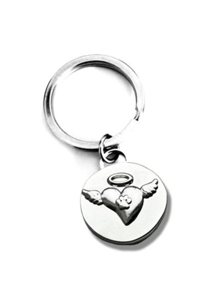 Luxe Pets In Loving Memory Angel Wings Keychain