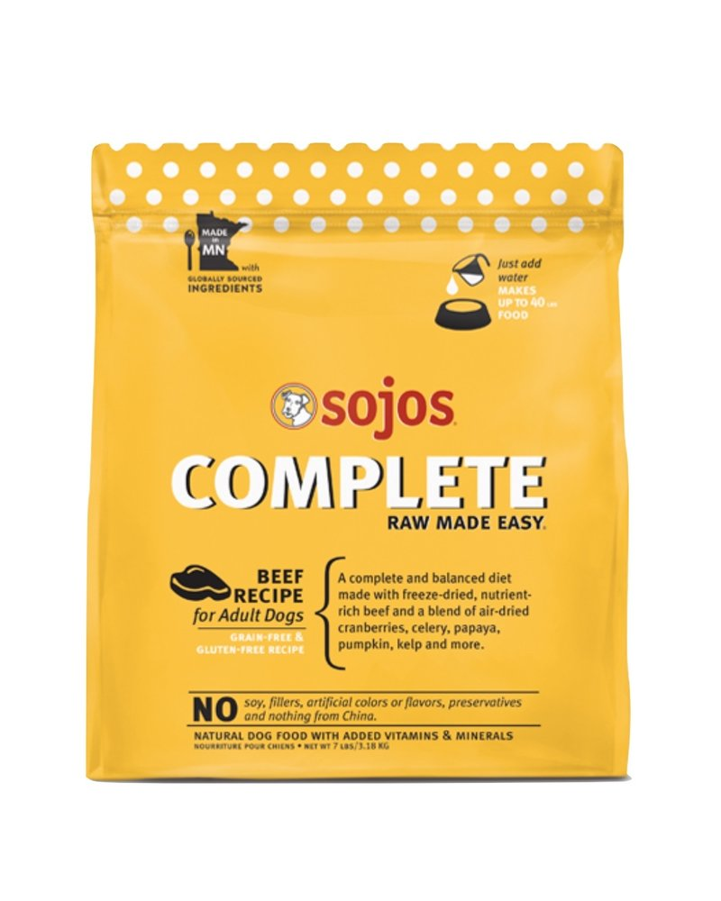 Sojos Complete Grain-Free Beef