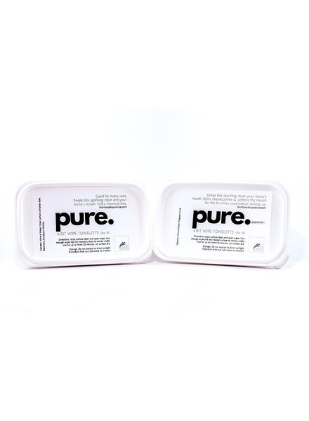 The Infused Equestrian Pure Bit Wipes