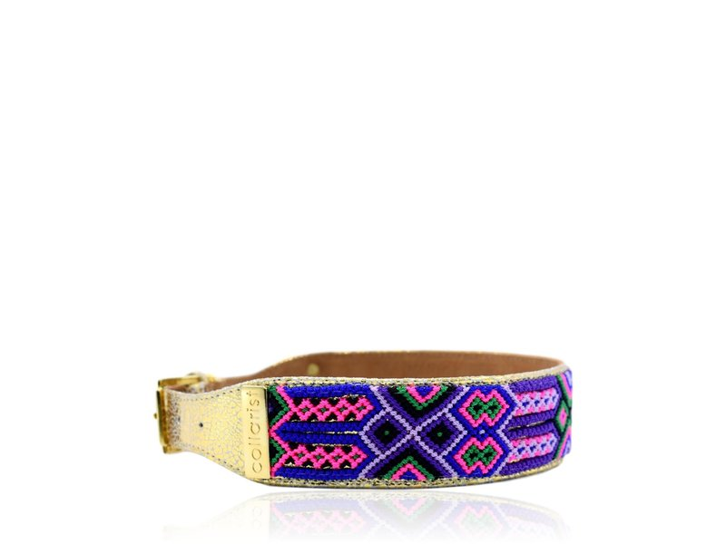 "Collarist Woven & Gold Leather Friendship Collar ""Little Dreamer"""