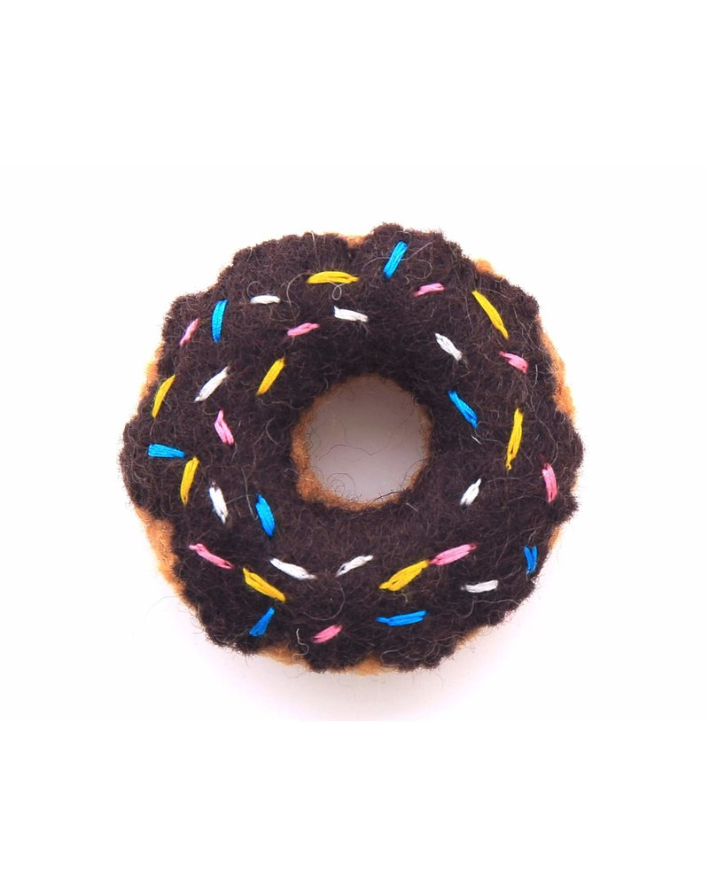 The Foggy Dog Donut Cat Toy