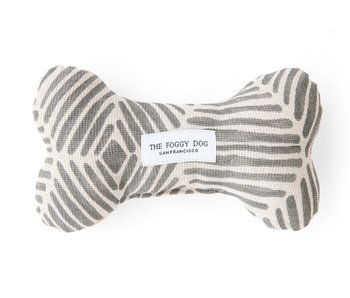 The Foggy Dog Modern Metallics Bone Toy