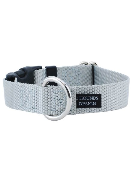 2 Hounds Design Buckle Martingale, Silver