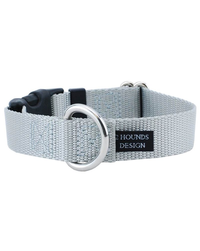 2 Hounds Design Buckle Martingale Combo, Silver