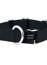 2 Hounds Design Buckle Martingale, Black