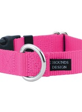 2 Hounds Design Buckle Martingale, Hot Pink