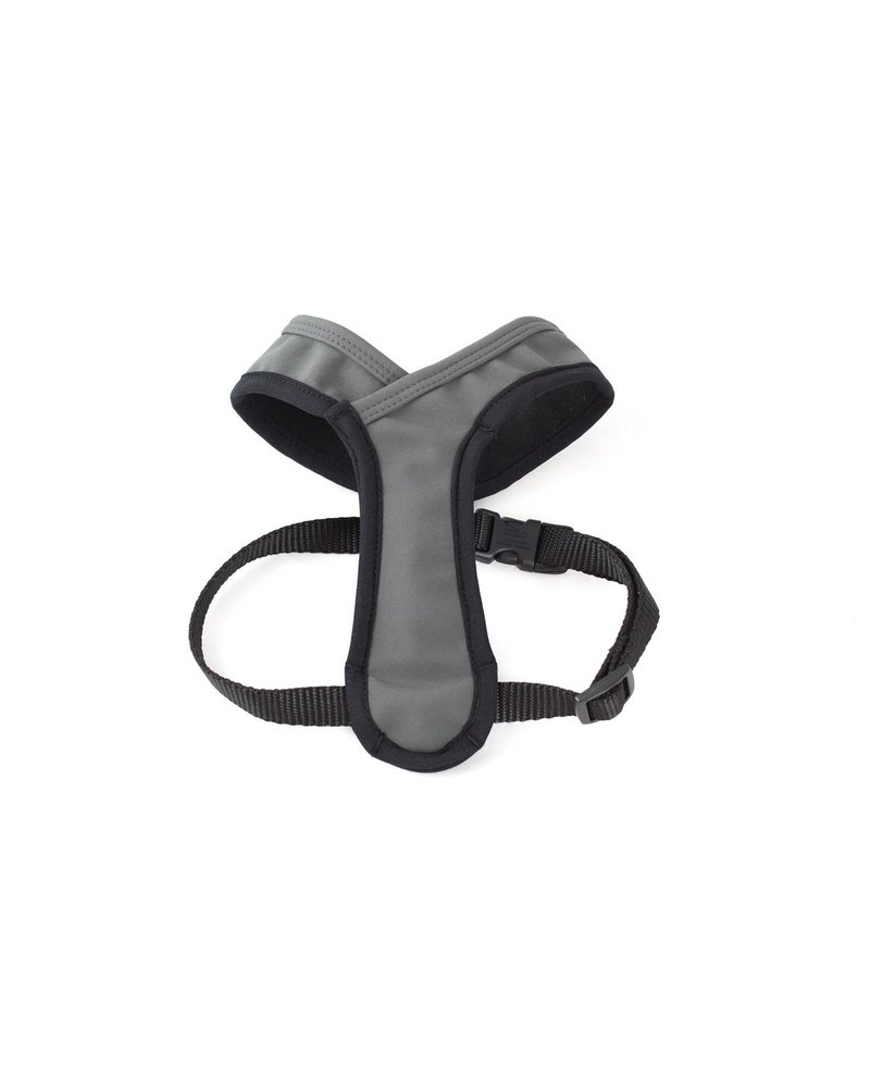 Wildebeest Laguna Soft Fit Dog Harness - Charcoal