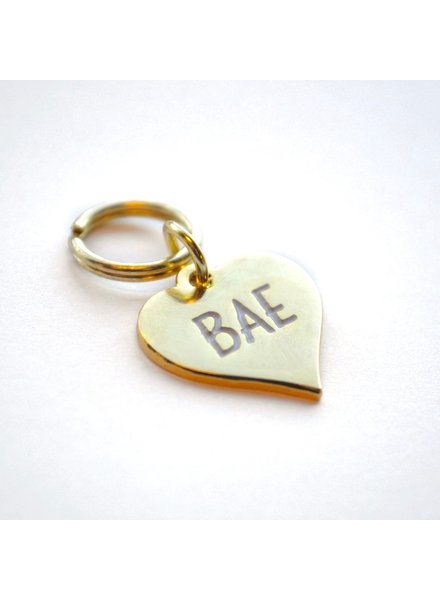 Boldfaced Goods Pet Tag, Bae