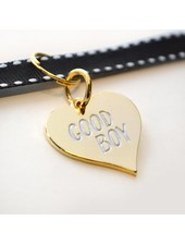 Boldfaced Goods Pet Tag, Good Boy