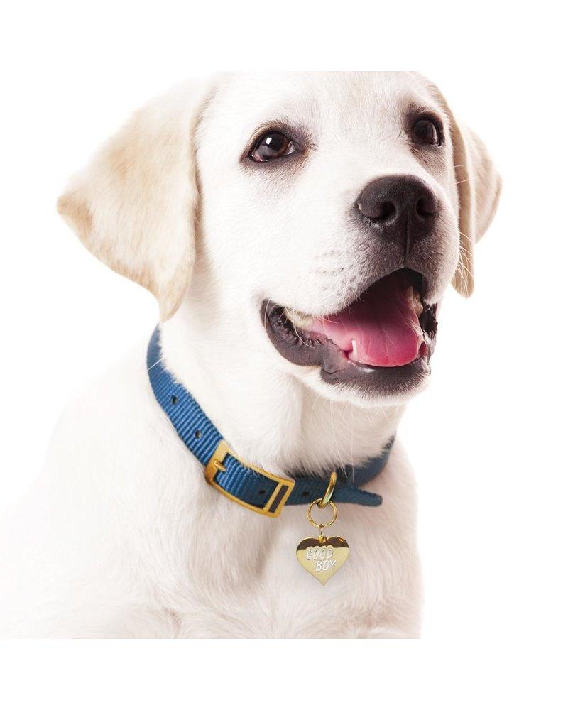 Boldfaced Goods Pet Tag, Good Boy