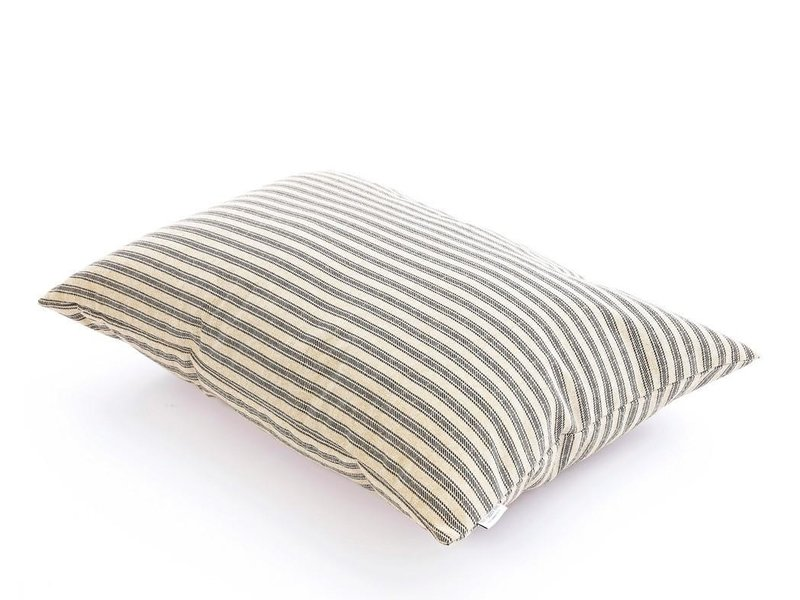 The Foggy Dog Ticking Stripe Pillow Bed