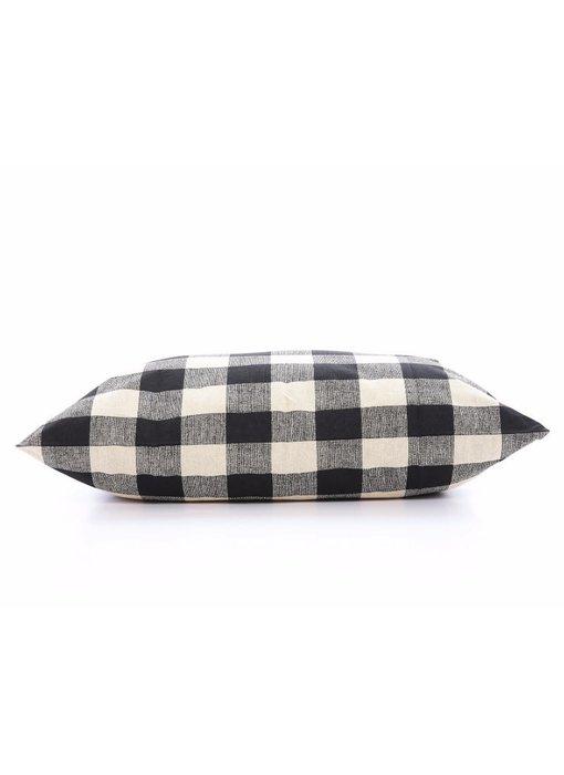 The Foggy Dog Buffalo Check Plaid Pillow Bed