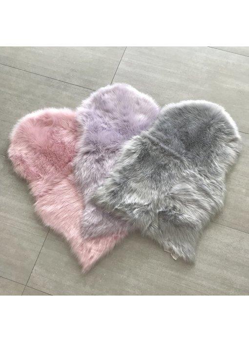 Sheepskin Fur Crate Mat