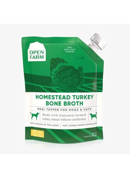Open Farm Bone Broth, Turkey