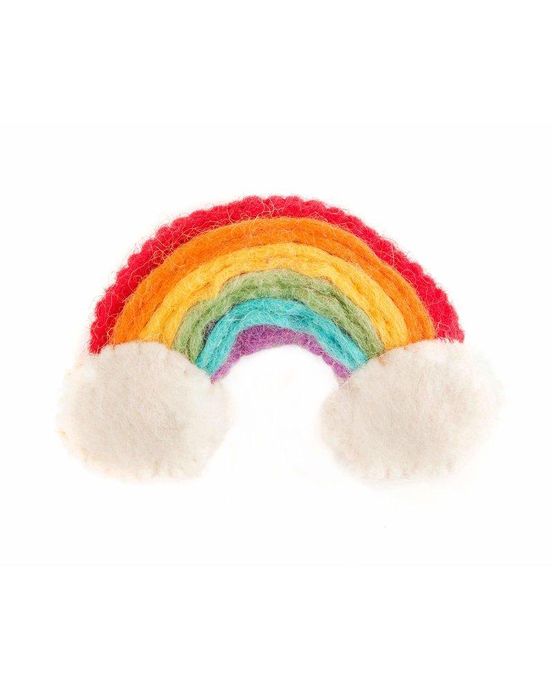 The Foggy Dog Rainbow Cat Toy