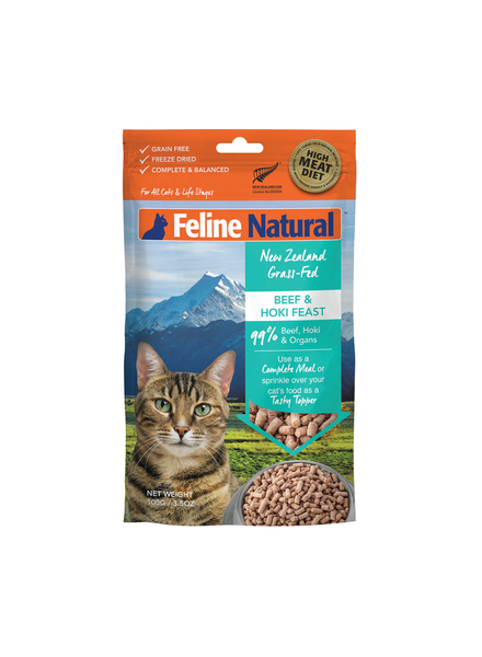 Feline Natural Beef & Hoki Feast