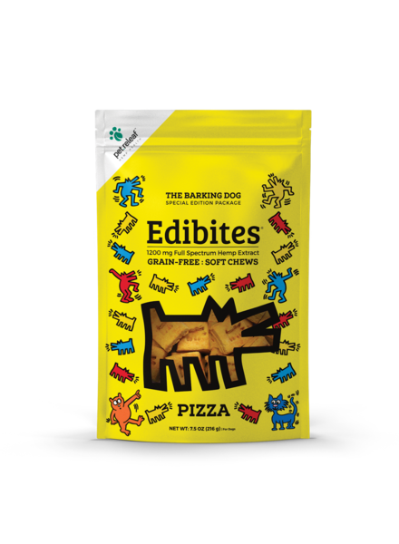 Pet Releaf Keith Haring Edibites, Downtown Pizza