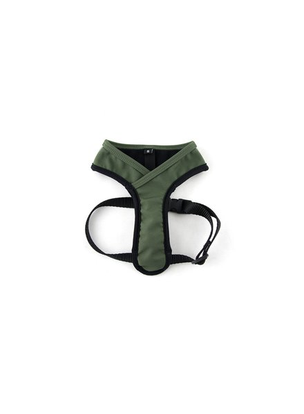 Wildebeest Laguna Soft Fit Dog Harness - Olive