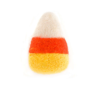 The Foggy Dog Candy Corn Cat Toy