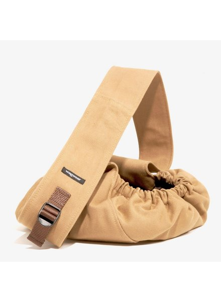 WagWear Messenger Pouch Carrier - Tobacco