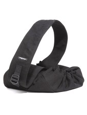 WagWear Messenger Pouch Carrier - Black