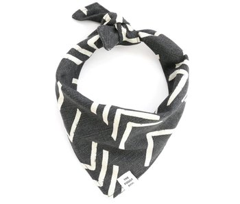 The Foggy Dog Modern Mud Cloth Bandana