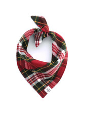 The Foggy Dog Tartan Plaid Flannel Bandana