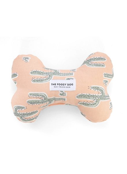 The Foggy Dog Cactus Bone Toy