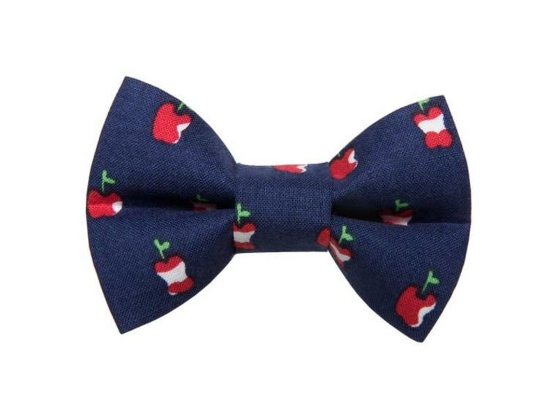 Sweet Pickles Designs Bow-Tie, Apple A Day