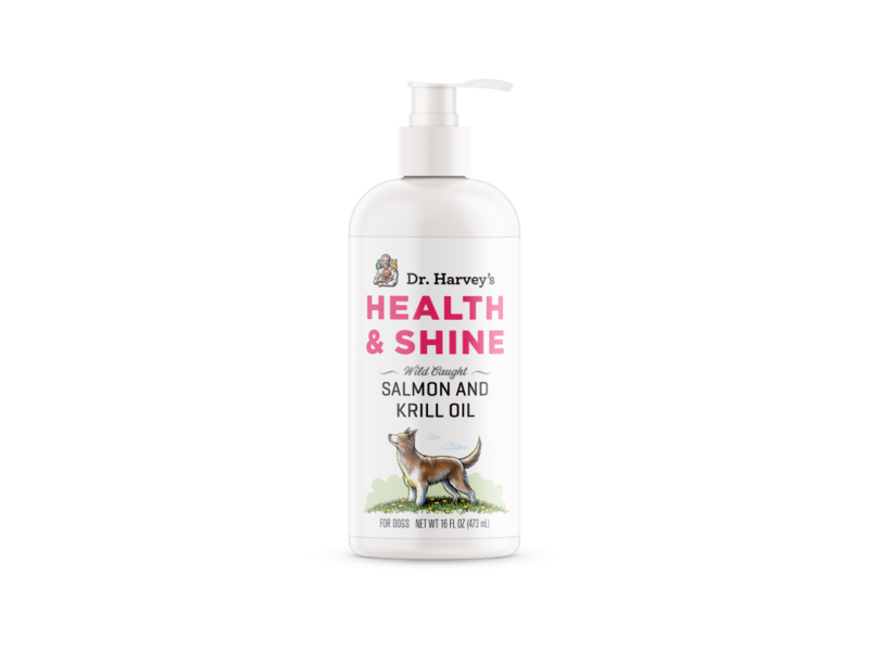 Dr. Harvey's Health and Shine Oil - Salmon & Krill