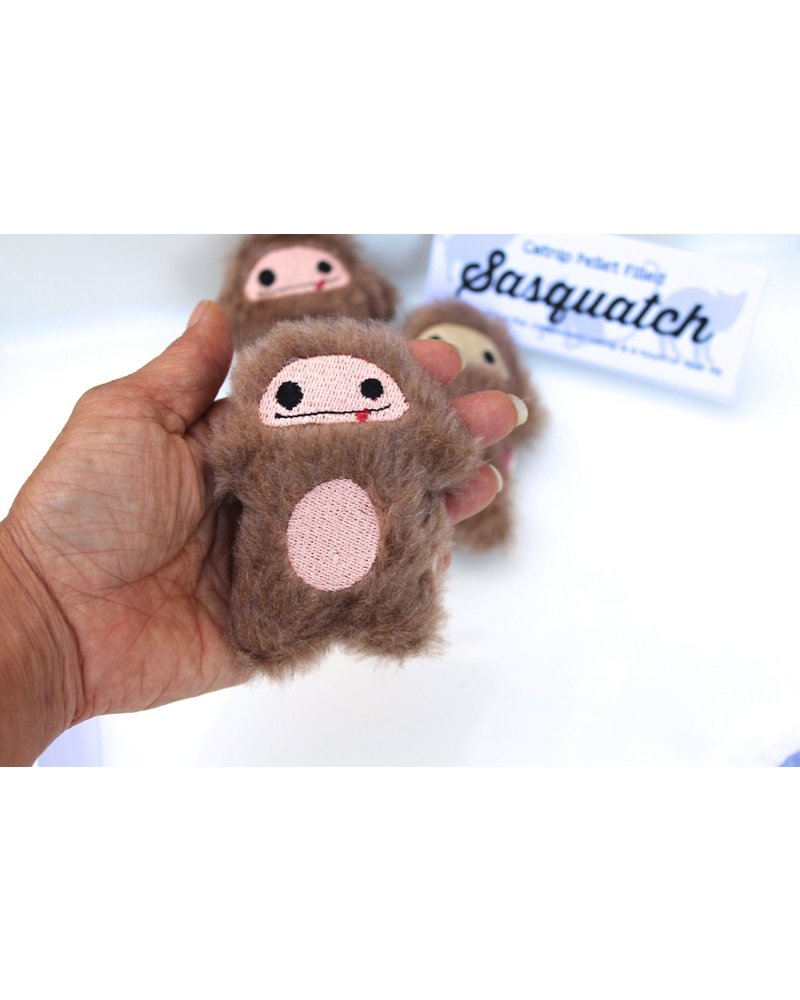 Miso Handmade Sasquatch Big Foot Catnip Toy