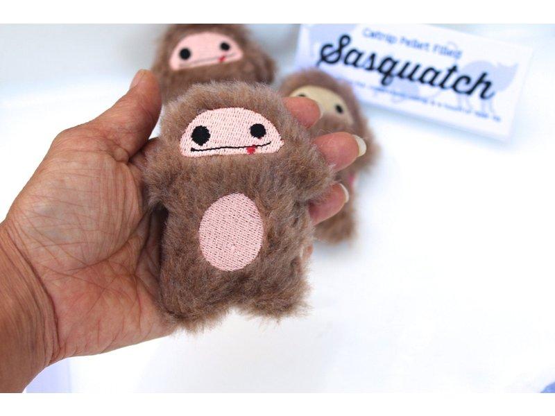 Miso Handmade Sasquatch Big Foot Catnip Toy