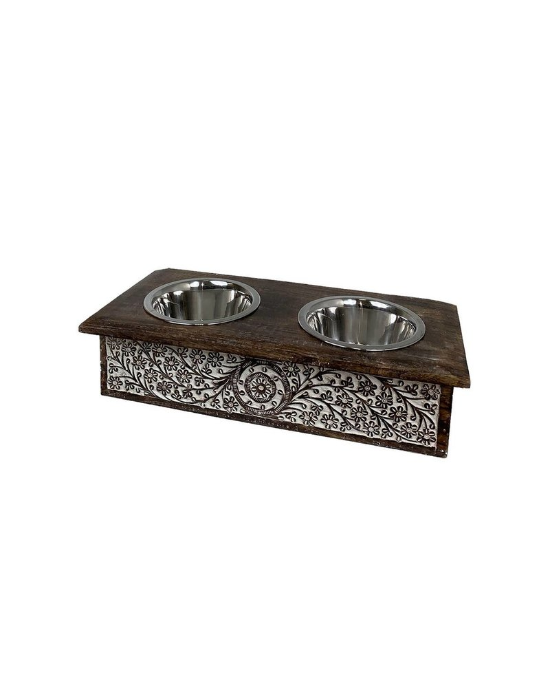 Heritage Double Pet Feeder