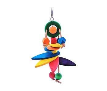 Scooter Z's Funny Flora Bird Toy