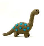 The Winding Road Felt Brontosaurus Dinosaur