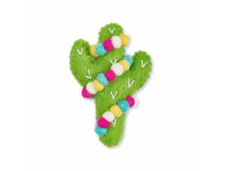 The Foggy Dog Jolly Cactus Catnip Toy