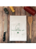 Green Bee KC Tea Towel, Meowy Catmass