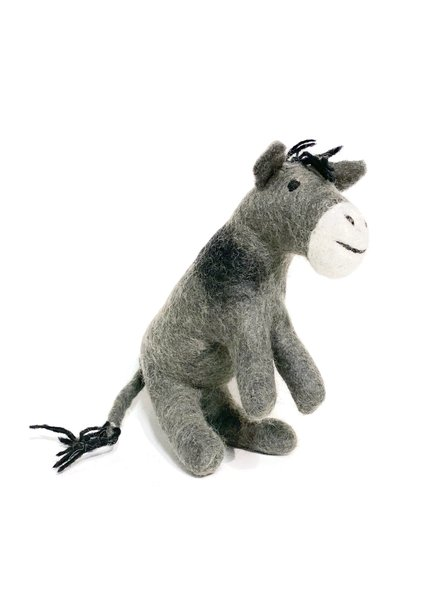 The Winding Road Wool Donkey