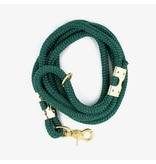 The Rover Boutique Marine Rope Leash, Forest Green