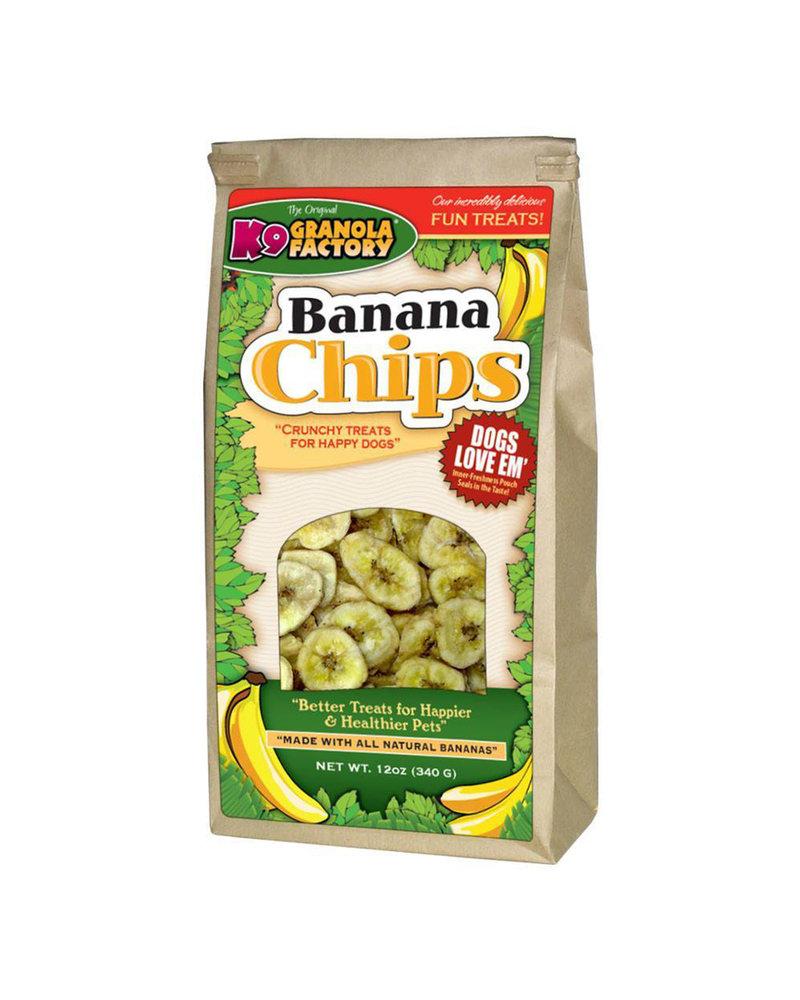K9 Granola Factory Banana Chips