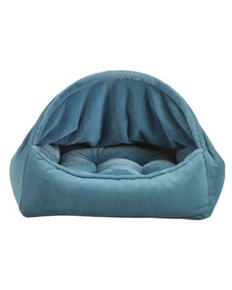 Bowsers Canopy Bed Teal Feed Pet Purveyor