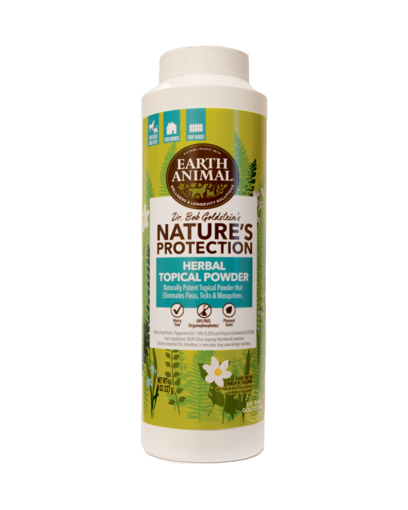 Earth Animal Flea & Tick Topical Herbal Powder