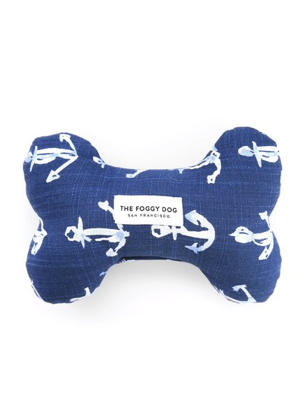 The Foggy Dog Anchor Bone Toy